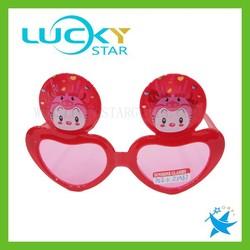 Girl heart shape sunglasses cheap plastic glasses frames custom kids eyewear frame