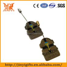 High grade custom metal craft badge for couvenir