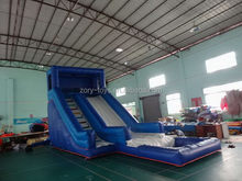 2015 classical inflatable classic water slide