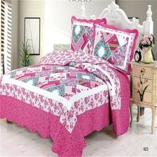 2015 China factory 100% cotton cover bedding set,pillowcase