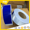 Sun reflective film material for safety tape
