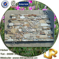 Concrete Natural Slate Textured Stone Wall Tile