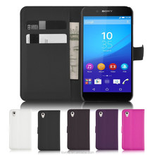 For Sony Xperia Z4 Wallet Pu Leather Flip Side Card Holder Case Cover