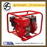 2 Inch High Pressure Water Pump Twin Impeller Engine Pump for Fire Fighting