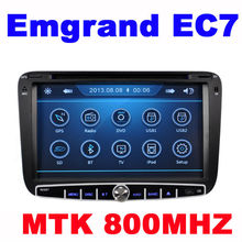 Car DVD Player for Geely Emgrand EC7 with CPU MTK3360 800MHZ Dual Core Radio Tape Recorder Stereo