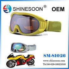 Excellent quality EN166 motorcross goggle, sport eyewear