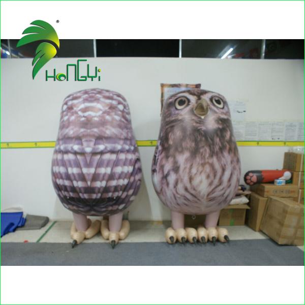 2 m de altura inflável da mascote de Eagle para publicidade e decoração