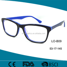 Popular Handmade Italy Design Man Acetate Optical Frames