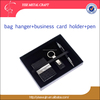 Luxury Gift Set Stone Pattern Pu Leather Business Card Holder Pen Key Rings Promotive Gift Corporate Gifts