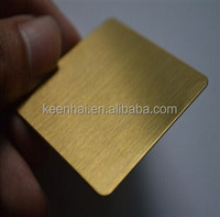 4x8 Color Coated Hairline Stainless Steel 2MM Copper Clad Laminated Sheet