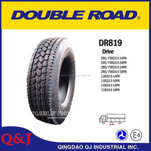 China clear front heavy truck tyre 11r24.5