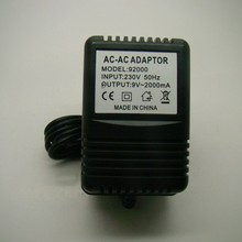 Made in china Wholesale New 9V AC to AC 2000mA 2A VAC AC power supply Adapter For Line 6 Line6