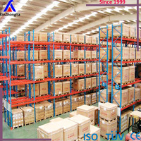 american type teardrop pallet rack supplier for warehouse storage