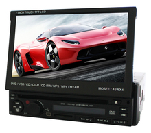 """7"""" Screen Size and CE FCC Certification 1 Din 7"""" inch Car DVD Player"""