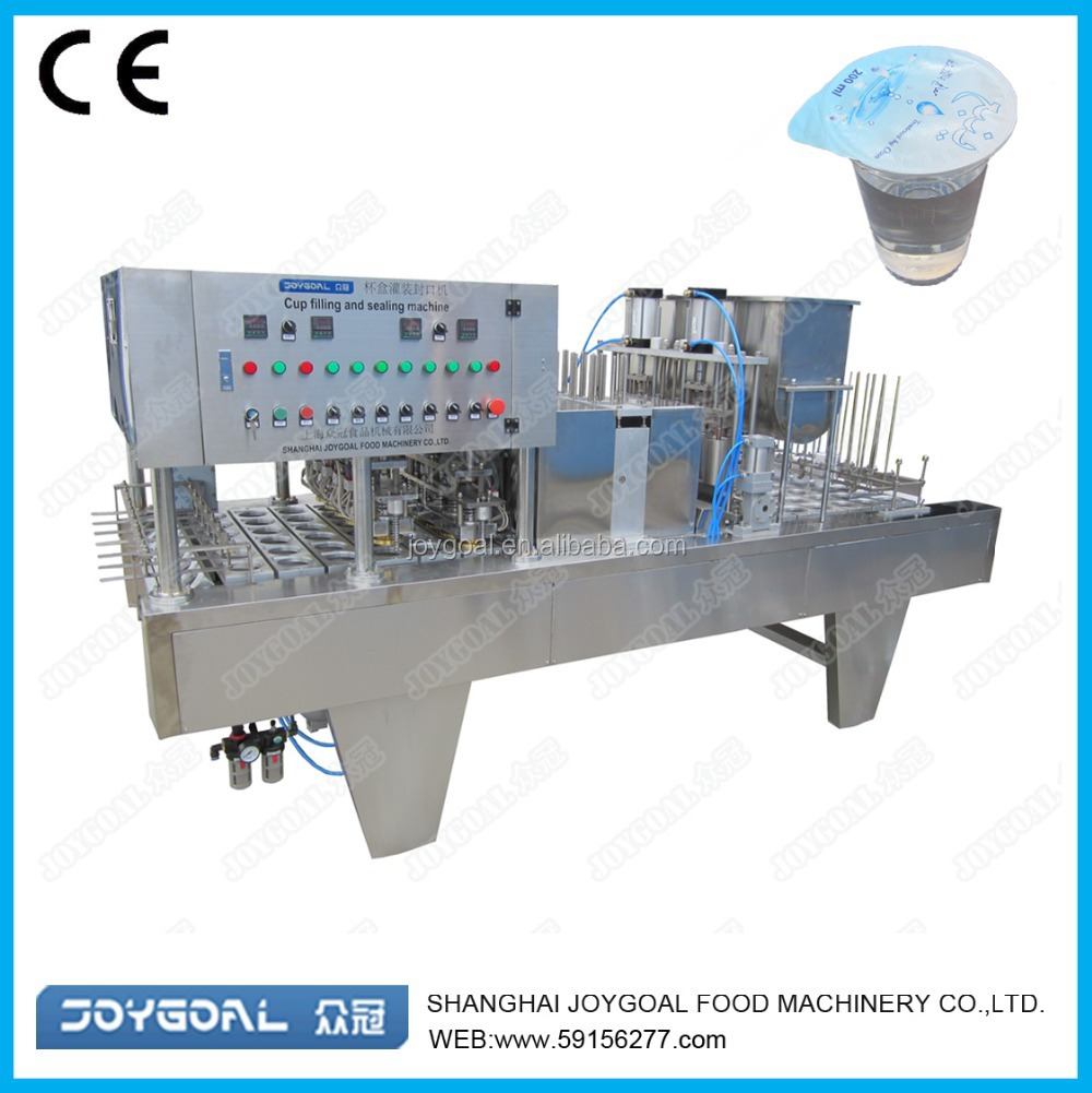 mineral water cup filling and sealing machine