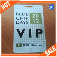 Beautiful design PVC id card free sample