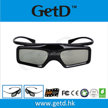 GetD 3D glasses for cinema market compatible with xpanD
