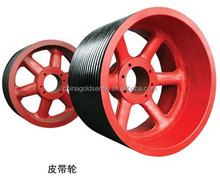 High quality OEM timing belt pulley belt tensioner pulleyaluminum pulley casting HT250 stainless steel pulley