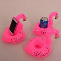 Top sale flamingo floating drink holder Inflatable Beer holder
