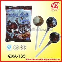 19g Choco Chewy Centre Lollipop Yogurt Candy