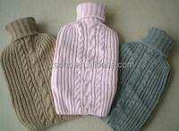 Luxury target hot water bottle with fleece cover,hot water bottle cover,bottle cover