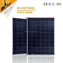 China poly solar module, 200wpv solar panel for house, cheap solar panels china