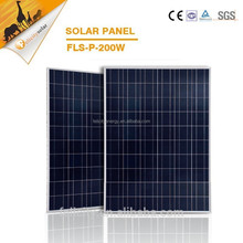 China poly solar module, 200wpv solar panel for house, cheap solar panels china