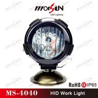 "9-32V DC 4"" HID motor xenon headlight, super bright IP-65 waterproof motorcycle HID xenon driving light"