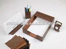 High quality customized made-in-china Leather file tray for Gift(ZDS-0006)