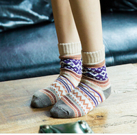 Lanle commercial tire snow sock foot girl tube sock