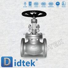 Didtek China Professional Valve Manufacturer Ship and building bolted bonnet cast globe valve