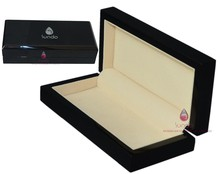 wholesale luxury piano lacquered wooden gift box for pens