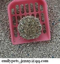 2015 economic bulk odd shape pet sand for cats