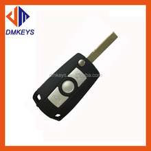 Auto Remote key Shell for BMW 3 5 series 3 button smart key case car key covers with battery cover