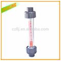abs pvc como de calor electrónica del medidor de flujo de plástico material