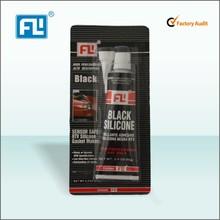 FL Black Instant RTV Silicone Adhesive/ Sealant no corrosion China manufacturer