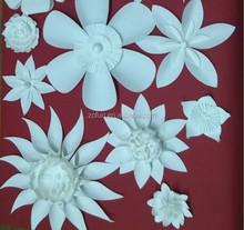 white wedding backdrop paper flowers decoration