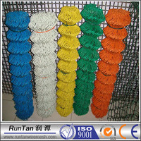 China manufacturer PVC coated roll chain link fence