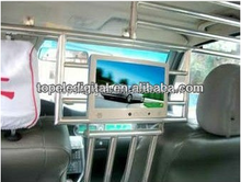 10.1'' headrest mounted and shelf mounted taxi digital display, taxi advertising screen