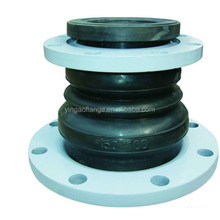 Rubber bellows reducing pipe expansion joint