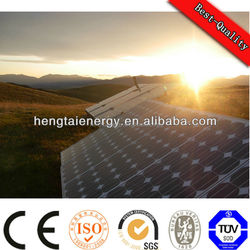61215IEC TUV CE hitech solar panel with micro inverter