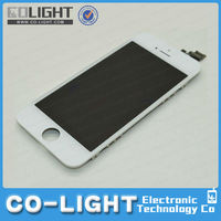 best price for iphone 5 lcd glass screen, for apple iphone 5 tft lcd screen touch digitizer with 1 year warranty