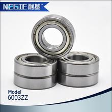 Surtidor de China Cixi Negie fabricante alta velocidad de precisión 6003 ruedas de rodillos