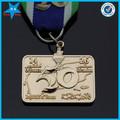 3d personalizada del deporte del logotipo medalla deporte medallón