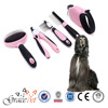 [Grace Pet] Hot Selling Dog Brush Dog Leash 5 In 1 Kit Dog Grooming Products