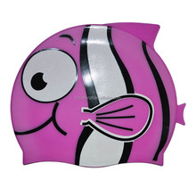 Custom Funny Fish Swimming Caps/100% Silicone Swimming Caps/High Quality Silicone Swim Caps