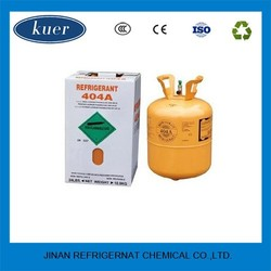mixed refrigerant gas r404a iso tank and no turbid and colorless