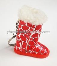 Mini fashion boot shape key chain high heel shoe keychain