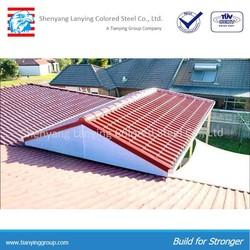prepainted metal roofing tile