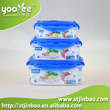 China Manufacturer Airtight Tall Plastic Container with Lid
